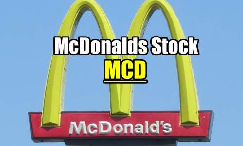 McDonalds Stock (MCD) – Trade Alerts on Collapse Over CEO Firing – Nov 4 2019