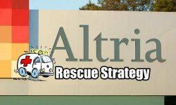 Rescue Strategies Altria Stock