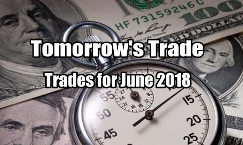 Tomorrow's Trade Portfolio Ideas for Fri Jun 8 2018