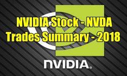 NVIDIA Stock (NVDA) Trades Summary for 2018