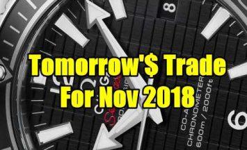 Tomorrow's Trade for Nov 2018
