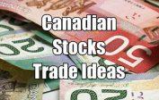 Canadian Stock Trade Ideas
