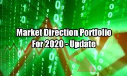 Market Direction Portfolio -SPY ETF Update for Jan 27 2020