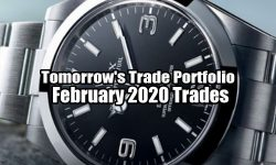 Tomorrow's Trade Portfolio Ideas for Feb 25 2020