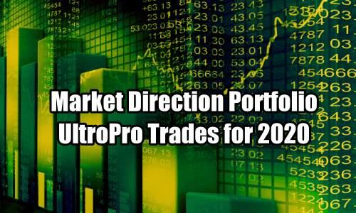 Market Direction Portfolio UltraPro Trades for 2020