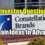 Repairs Ideas In Advance Of Expiry For Constellation Brands Stock (STZ) Trade – Jun 15 2020