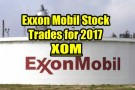 Exxon Mobil Stock Trades For 2017