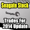Seagate Stock (STX) Trades For 2014 Update – Oct 27 2014