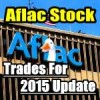 Aflac Stock (AFL) Trades For 2015 Update for Dec 31 2015