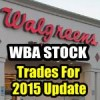 Walgreens Boots Alliance Stock Trades For 2015 Update – Apr 12 2015