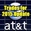 ATT Stock (T) Trades For 2015 Update as of July 12 2015