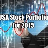USA Stock Portfolio For 2015