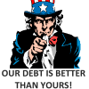 USA Debt VS World Debt – Ludicrous Arguments