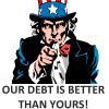USA Debt VS World Debt – Ludicrous Arguments