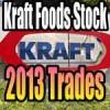 Kraft Foods Stock (KRFT) Trades For 2013