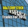 BB&T Stock Trades For 2017 Update for Feb 4 2017