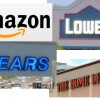 Amazon Clobbers Lowes and Home Depot With Sears Deal – Adjusting My Trades – July 20 2017