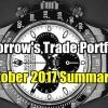 Tomorrow's Trade Portfolio For October 2017