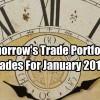 Tomorrow's Trade Portfolio Ideas for Wed Jan 31 2018