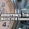 4.4% Return For March 2018 Tomorrow's Trade Portfolio