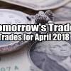 Tomorrow's Trade Portfolio Ideas for Apr 20 2018