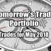 Tomorrow's Trade Portfolio Ideas for Thu May 31 2018