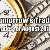 Tomorrow's Trade Portfolio Ideas for Aug 21 2018