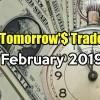 Tomorrow's Trade Portfolio Ideas for Fri Feb 15 2019
