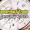 Tomorrow's Trade Portfolio Ideas for Jan 17 2019