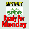 SPY PUT Getting Ready For Monday
