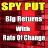 Spy Put Options Trade Provides 52% Return Thanks To Rate Of Change Indicator