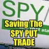 SPY PUT Trade Saved After Missing Sell Signal