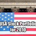 USA Stock Portfolio for 2010