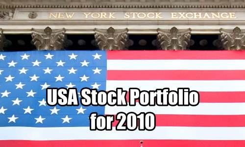 USA Stock Portfolio for 2010