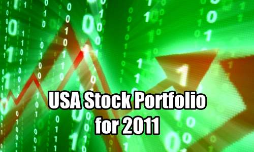 USA Stock Portfolio for 2011