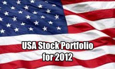 USA Stock Portfolio for 2012