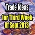 third week of Sept 2013 Option Trade Ideas