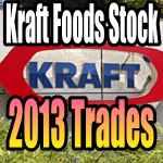 Kraft Foods Stock 2013 Trades