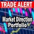 Market Direction Portfolio trade alert