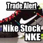 Nike Stock (NKE) - Trade Alert Ahead of Earnings - June 28 2016