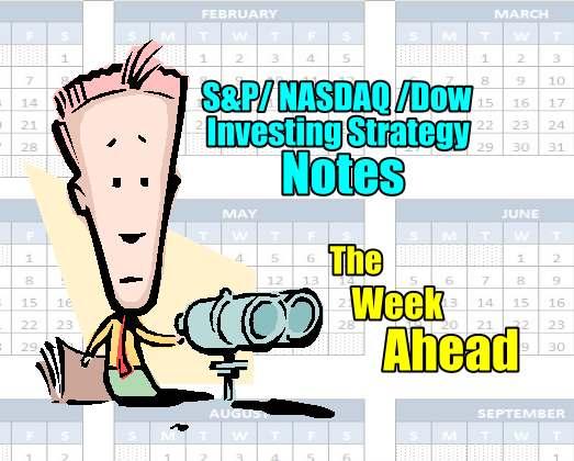The Week Ahead - Stock Market Outlook