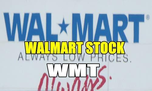 Walmart Stock WMT