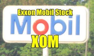 Exxon Mobil Stock XOM