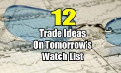 12 Trade Ideas for Tomorrow's Watch List