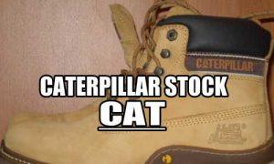Caterpillar Stock CAT