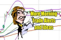 more morning trade alerts and ideas