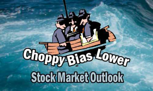 Stock Market Outlook - Choppy Bias Lower