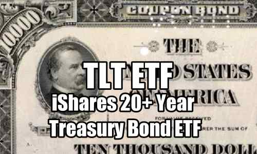 TLT ETF iShares 20 year plus treasury bond ETF