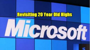 Microsoft Stock breaks out of 20 year highs
