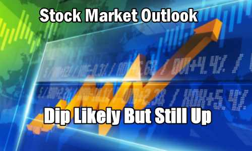 Stock Market Outlook Dip Likely But Still Up
